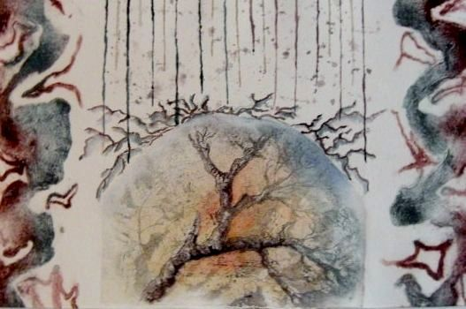 Sarastus, 65 x 50 cm