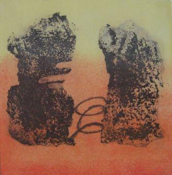 TRACES II, 14 x 14 cm