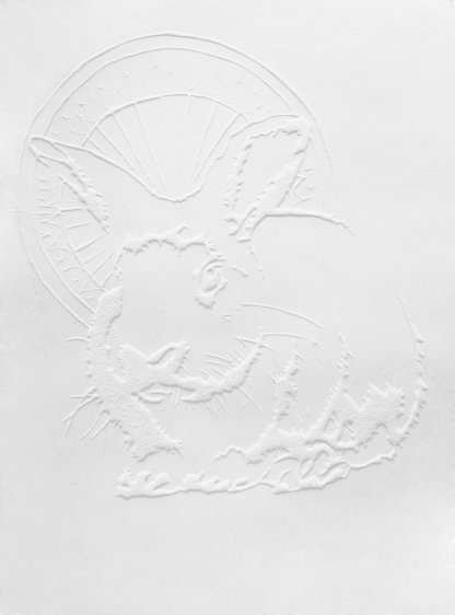 Holy rabbit, 17,7 x 24,7 cm