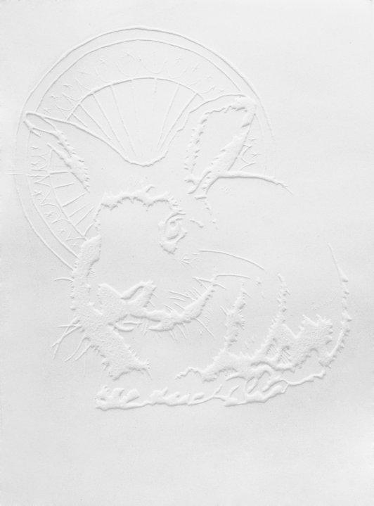 Holy rabbit, 17,7 x 24,7 cm