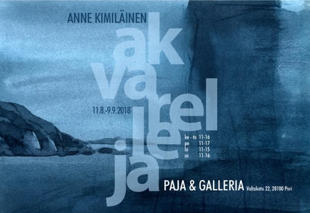 Anne_Kimiläinen_nettijuliste_AKVARELLEJA
