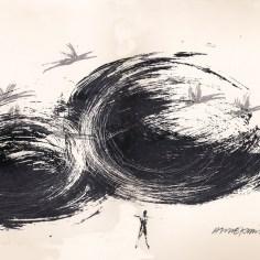 Jotain suurta, serigrafia, 2012